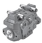 Tandem variable displacement axial piston hydraulic pumps (closed circuit)