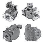 Variable displacement axial piston hydraulic pump (open circuit)
