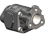 Cast iron hydraulic gear pump